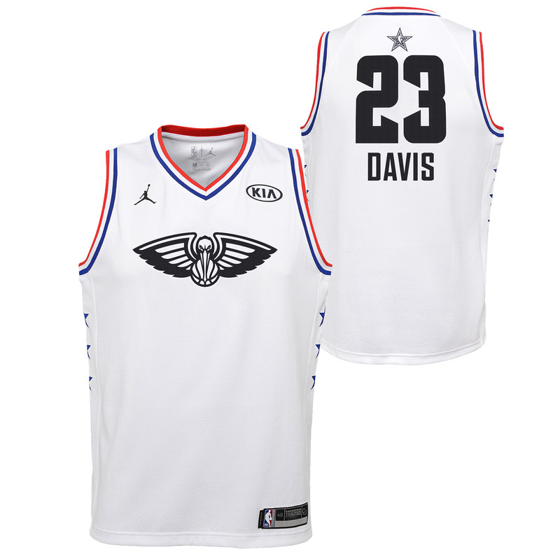 8ab343205 New Orleans Pelicans Nike NBA ALL STAR GAME Edition Swingman Jersey ...