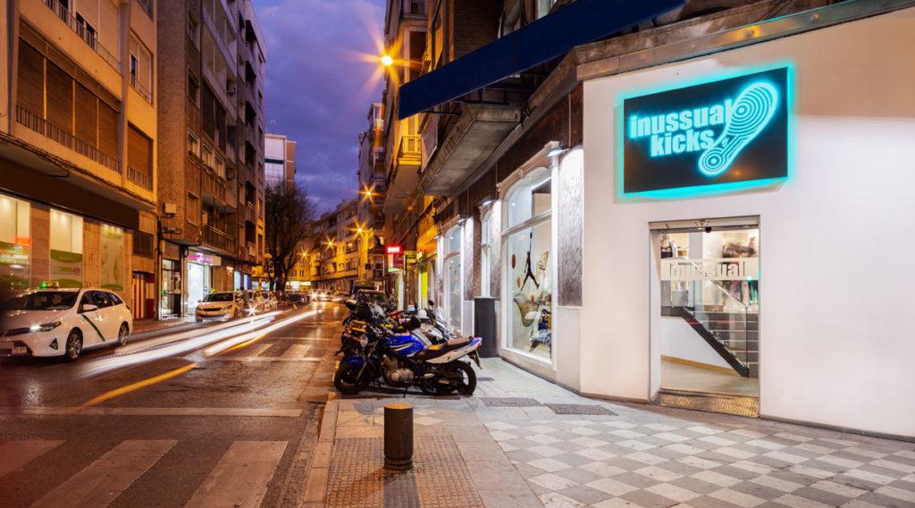 Tienda de Inussual Kicks en Granada