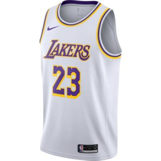 Camiseta NBA lebron LA lakers 23 blanca