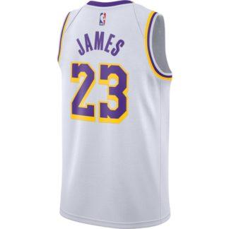 Camiseta NBA lebron lakers 23 blanca