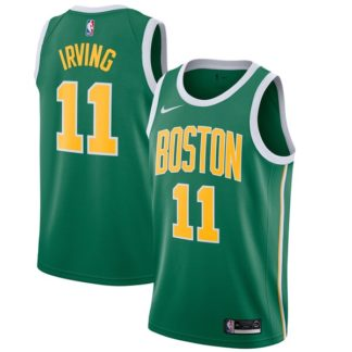 Camiseta NBA Irving Celtics dorsal amarillo