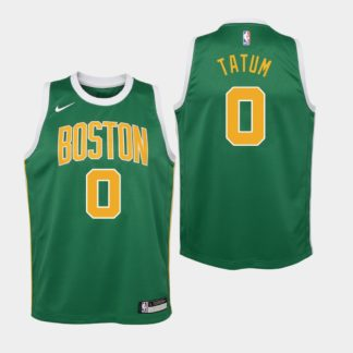 Camiseta NBA Tatum Celtics dorada