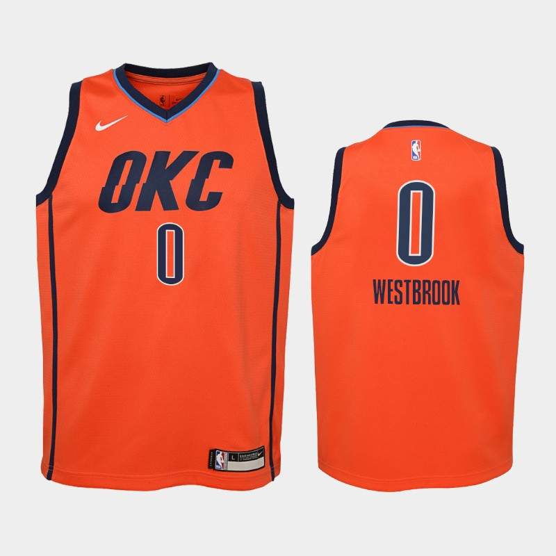 the latest b5f78 07d7c Oklahoma city thunder nike nba icon edition swingman jersey russell  westbrook niño/a