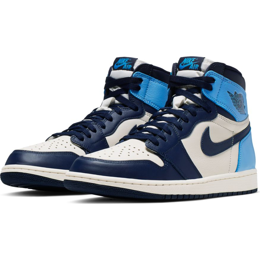 air jordan 1 high og azul
