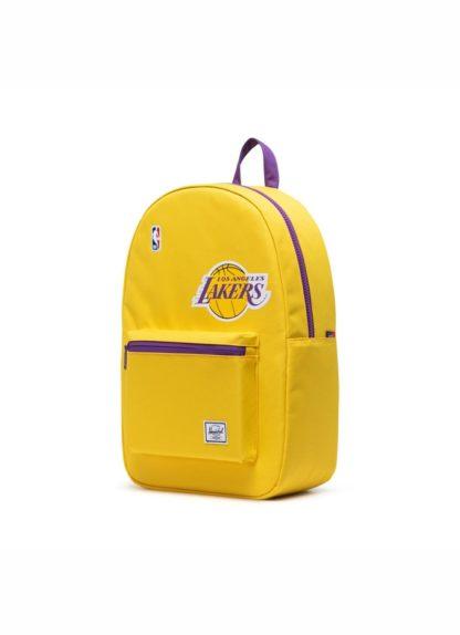 Herschel X Nba Superfan Collection Settlement Backpack Lakers Goldpurple Side 39206 1568070721